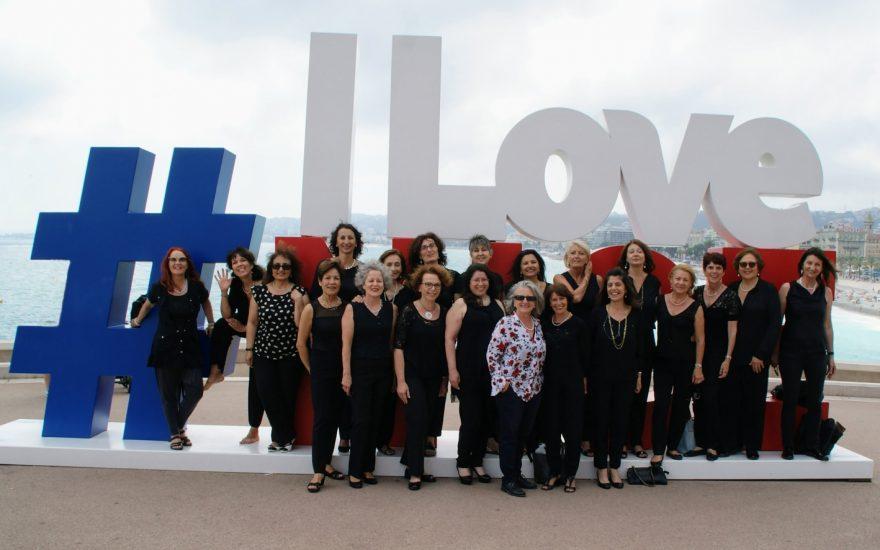 Le bien-être par le chant avec l'Ensemble vocal féminin Les Choralines 06